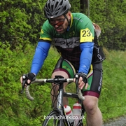 Brave Cyclists At Ras Loughguile