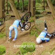 Mountain Bikers Invade Rostrevor